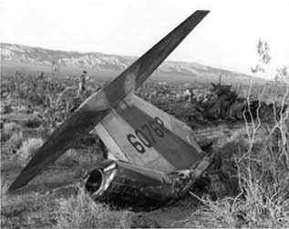NF-104 Crash