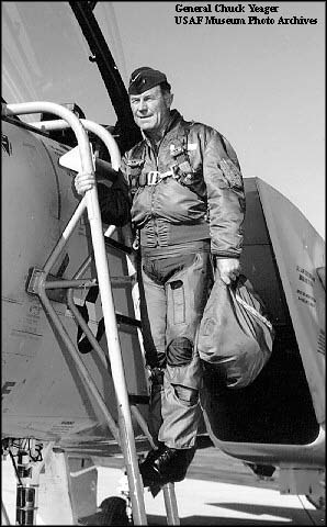 "a biography of general chuck yeager Charles elwood ""chuck"" yeager was born on 13 february 1923, in myra, west virginia usa, of part-german descent, and is a retired united states air force general."