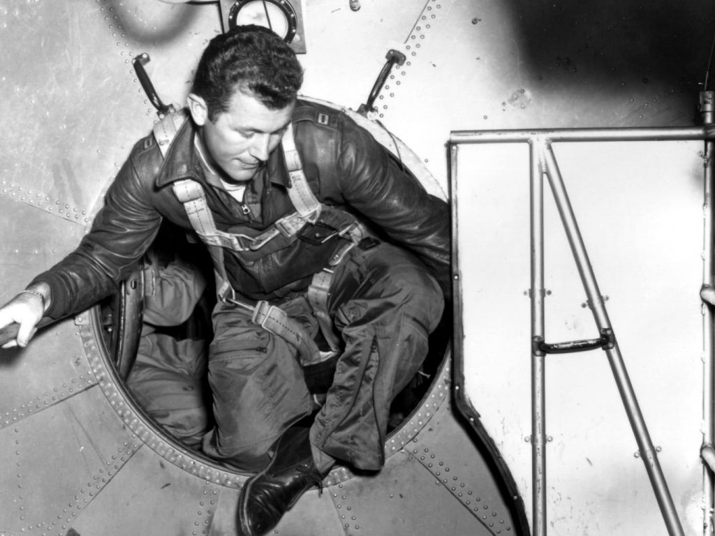 Chuck Yeager: the pilot's derring-do was packaged in 'effortless cool' Alamy
