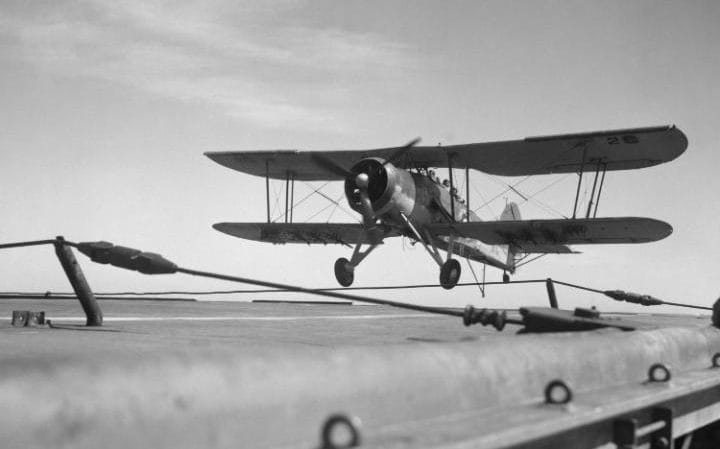 A Swordfish plane
