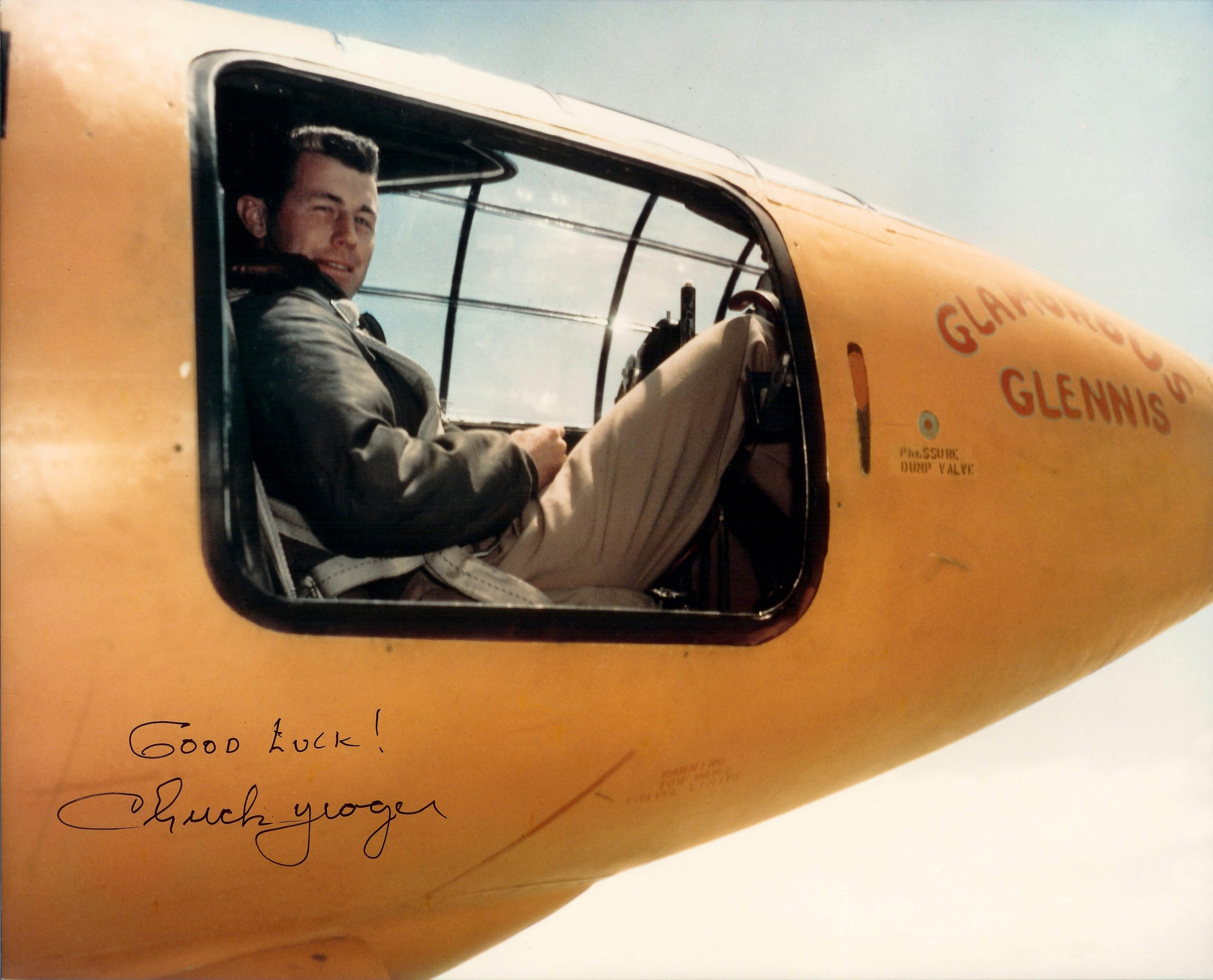 Chuck Yeager X 1